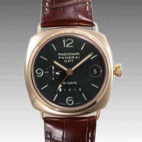 official photos 20e8e ae376 パネライ ラジオミール 10デイズGMT PAM00273 コピー 腕時計