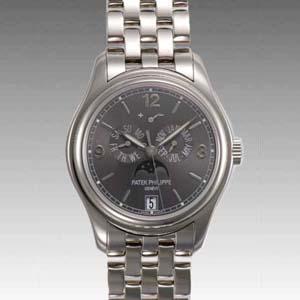new arrival 1c6fa fb48b パテックフィリップ アニュアルカレンダーパテックフィリップ アニュアルカレンダー 5146/1G-010 コピー 腕時計