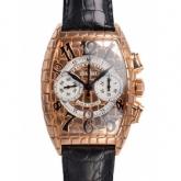 フランクミュラー トノーカーベックス ゴールドクロコクロノ 8880CCAT GOLD CRO コピー 腕時計