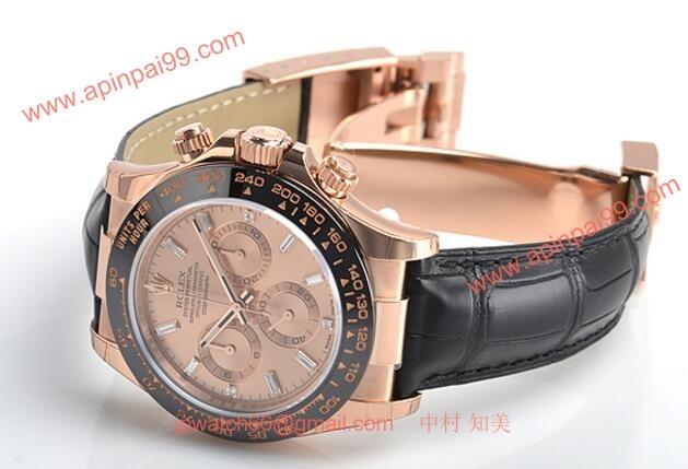 premium selection b40d8 f173f ロレックス デイトナ 116515LN A ピンクゴールド・セラミック ダイヤモンド