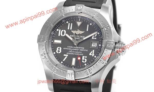 (BREITLING)激安ブランドコピー ブライトリング時計 アベンジャー シーウルフ A177F38RPR