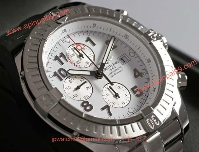 ブライトリングスーパーコピー 時計 アベンジャー 白 BNL2323