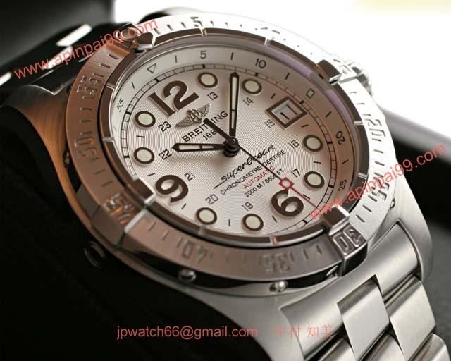 ブライトリングスーパーコピー 時計 オーシャン スティールフィッシュ X-PLUS 銀 A179G91PRS