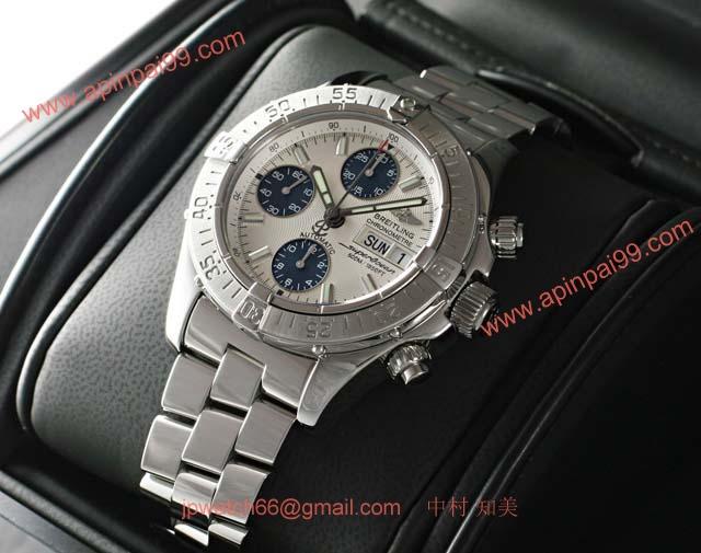ブライトリングスーパーコピー 時計 クロノスーパーオーシャン 銀 A111G49PRS