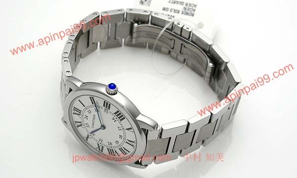 カルティエ時計ブランド 店舗 激安 ロンドソロ ドゥ LM W6701005