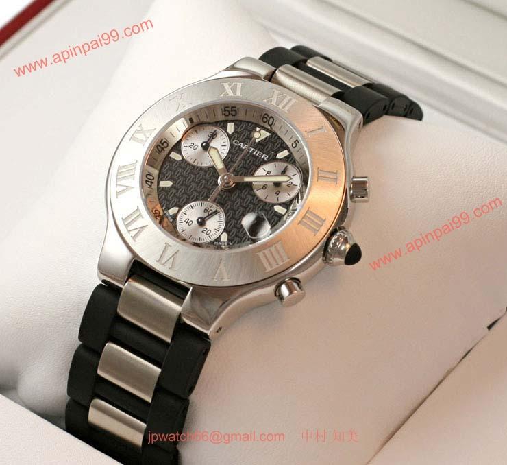 ブランド CARTIERカルティエ 時計コピー クロノスカフ W10125U2