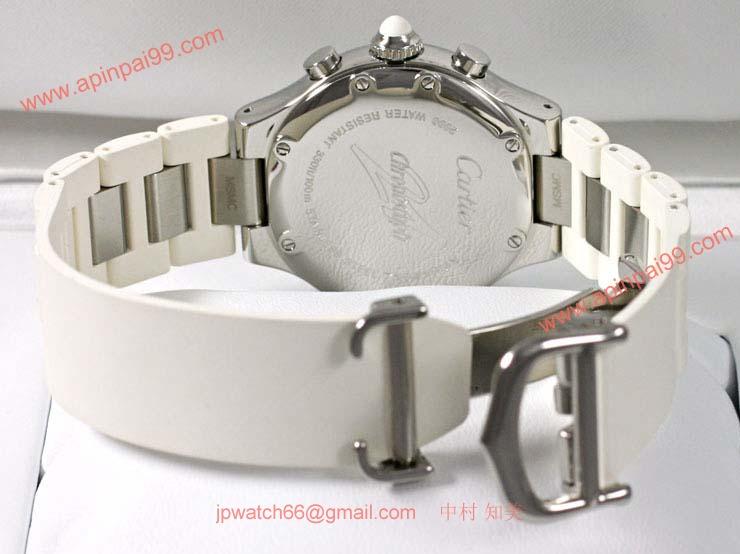 ブランド CARTIERカルティエ 時計コピー マスト21 ヴァンティアン クロノスカフ W10197U2