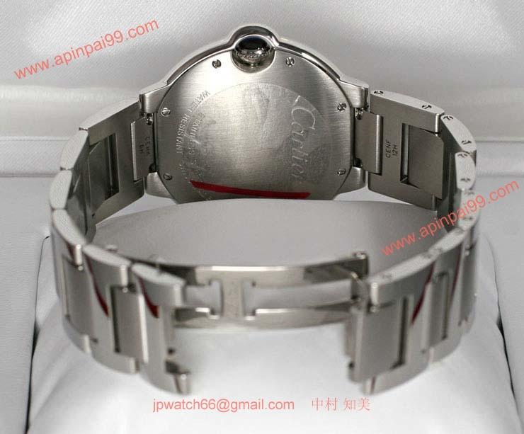 ブランド CARTIERカルティエ 時計コピー バロン ブルー ドゥ ボーイズ スティール W69011Z4