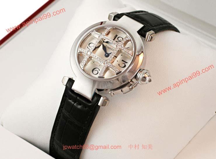 ブランド CARTIERカルティエ 時計コピー パシャ32 WJ11932G