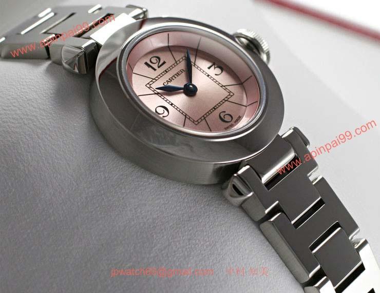 ブランド CARTIERカルティエ 時計コピー ミスパシャ W3140008