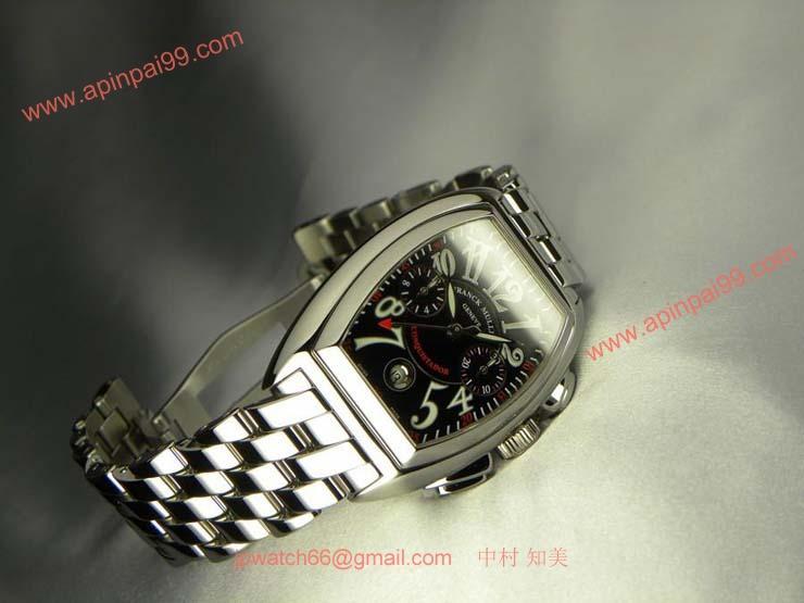 FRANCK MULLER フランクミュラー時計偽物 コンキスタドール 2カウンタークロノグラフ 8001CC
