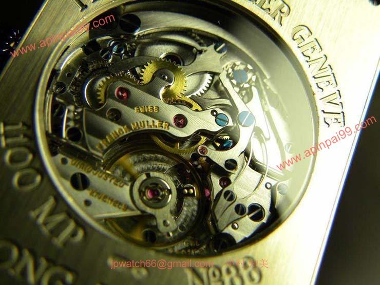 腕時計 コピー FRANCK MULLER フランクミュラー ロングアイランド ワンプッシュクロノグラフ ブレスレット 1100MP