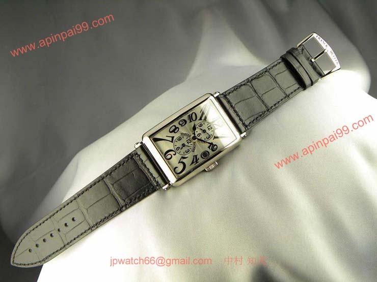 腕時計 コピー FRANCK MULLER フランクミュラー ロングアイランド マスターバンカー 1200MB