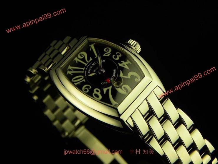 FRANCK MULLER フランクミュラー 偽物時計 コンキスタドール レディース 8005L