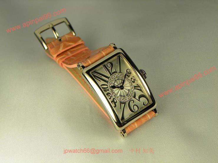 腕時計 コピー FRANCK MULLER フランクミュラー 激安 レディース ロングアイランド ダイヤモンド ダイヤル1R 902QZCD1RREL