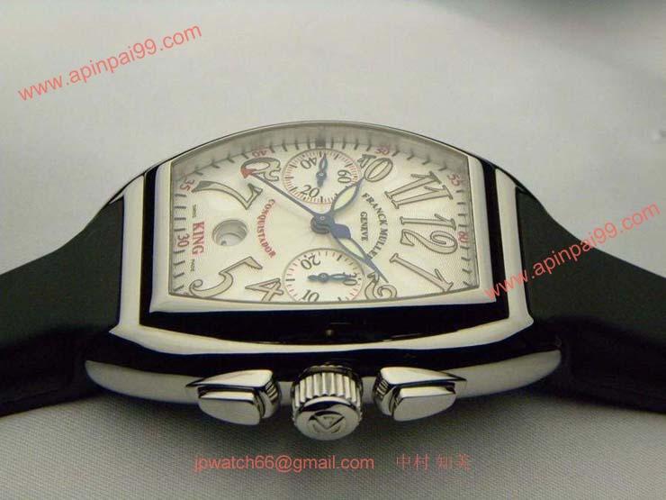 FRANCK MULLER フランクミュラー スーパーコピー時計 コンキスタドール キング 8002CCKING