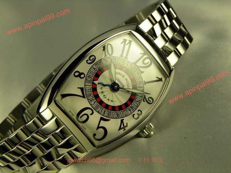 FRANCK MULLER フランクミュラー スーパーコピー時計 ヴェガス ホワイトダイヤル 6850VEGAS