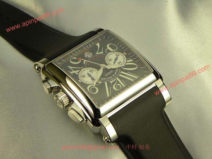 FRANCK MULLER フランクミュラー 時計 偽物 コンキスタドールコルテス クロノグラフ キング 10000CCKING