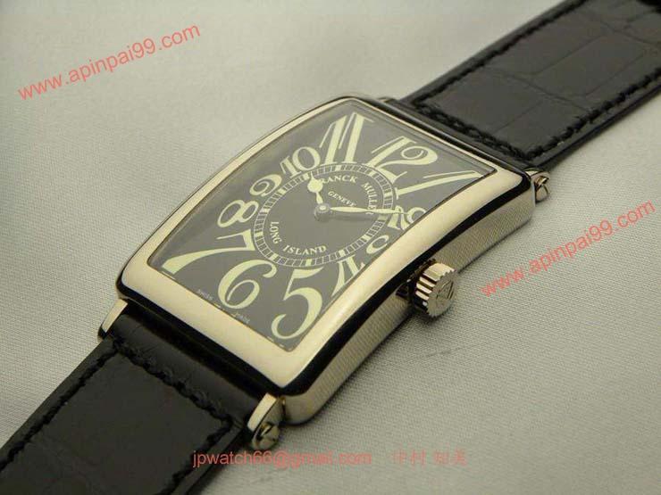 FRANCK MULLER フランクミュラー 時計 偽物 ロングアイランド ブラック 1000SC