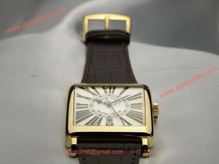 腕時計 コピー FRANCK MULLER フランクミュラー 激安 マスタースクエア 6000SC
