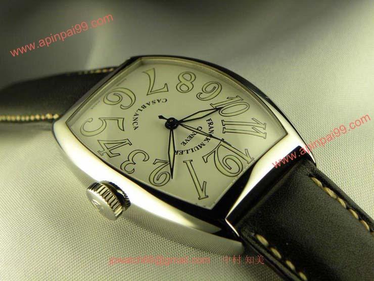 腕時計 コピー FRANCK MULLER フランクミュラー カサブランカ ホワイト 5850CASA