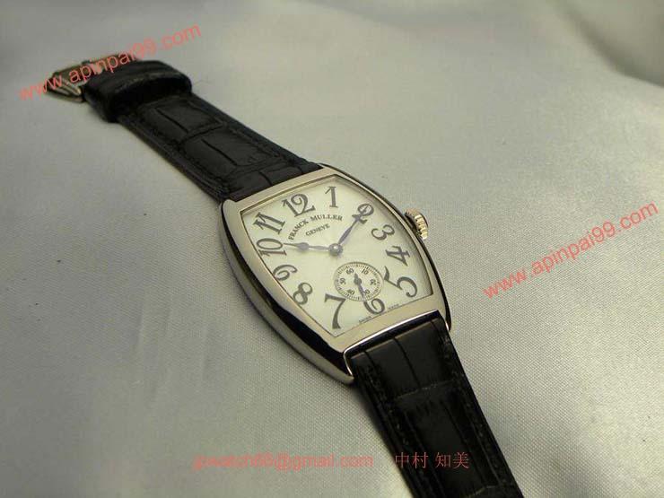 腕時計 コピー FRANCK MULLER フランクミュラー トノウカーベックス スモールセコンド 7500S6