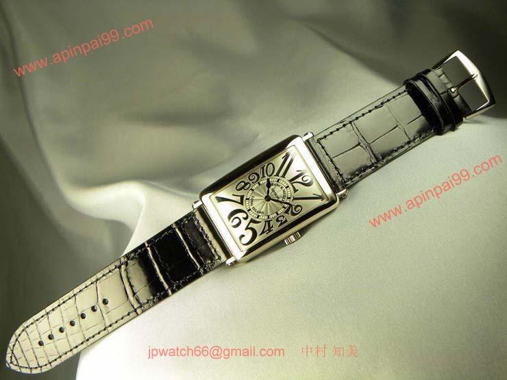 腕時計 コピー FRANCK MULLER フランクミュラー 激安 ロングアイランド レリーフ 1000SCRELIEF