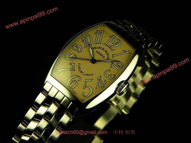 FRANCK MULLER フランクミュラー 偽物時計 カサブランカ サーモン 5850CASA