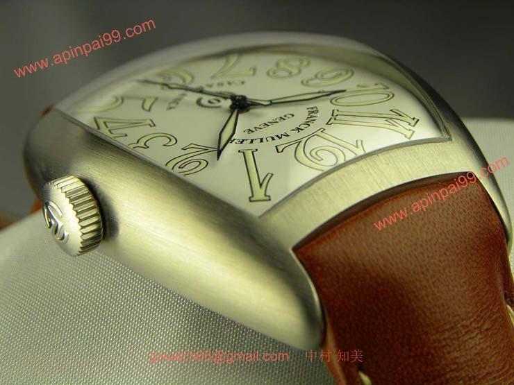 腕時計 コピー FRANCK MULLER フランクミュラー 激安 カサブランカ 10th年記念 ホワイト 8880CASABR