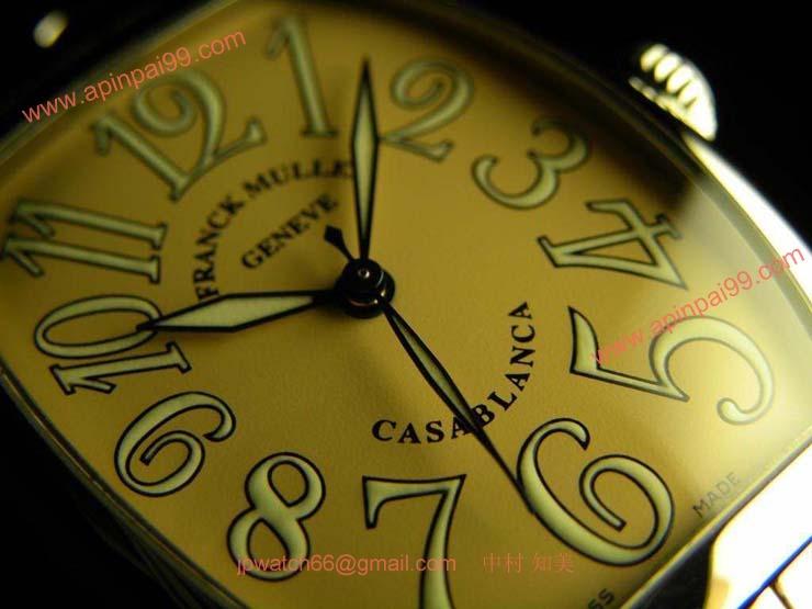 FRANCK MULLER フランクミュラー スーパーコピー時計 カサブランカ サーモン 2852CASA
