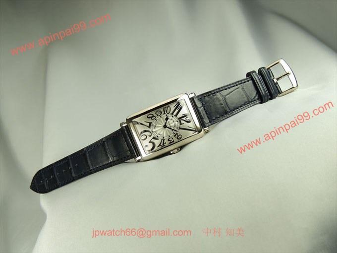 フランク・ミュラー コピー 時計 ロングアイランド レリーフ952QZRELIEF OG White