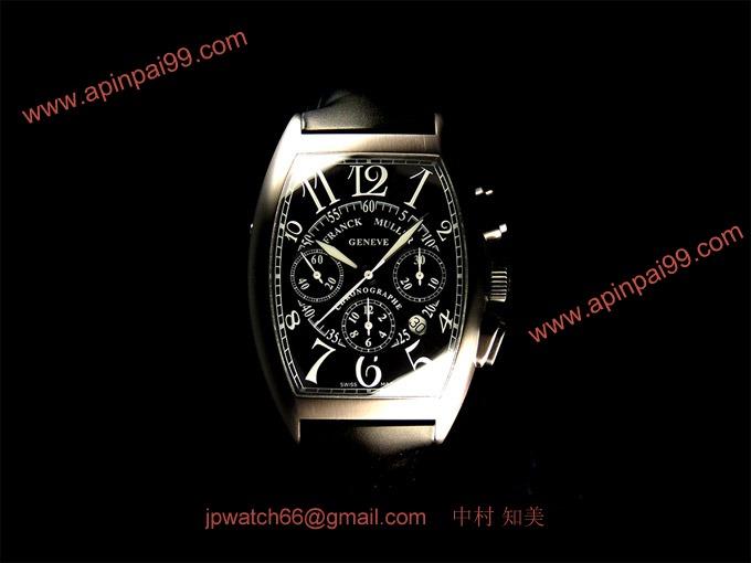 フランク・ミュラー コピー 時計 3カウンタークロノグラフ ノアール8880CCATNR AC Black_FRANCK MULLER時計