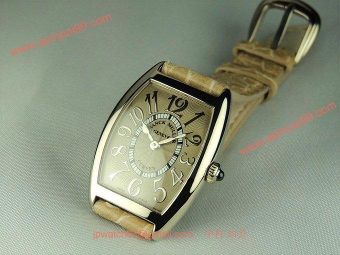 フランク・ミュラー コピー 時計 レディース カーベックス レリーフ