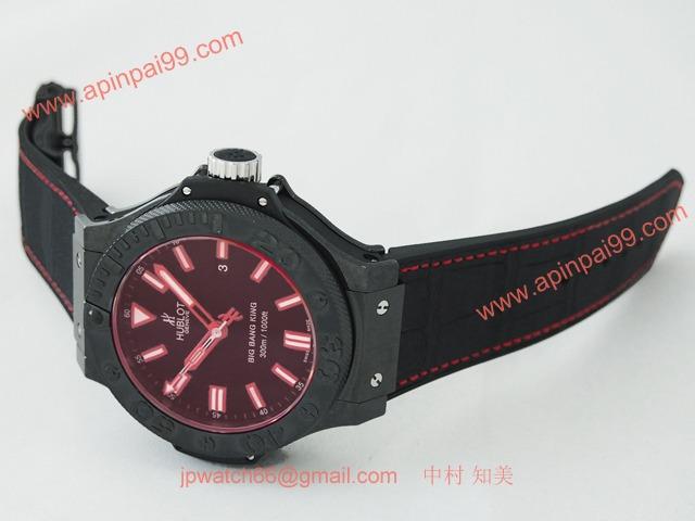ウブロ 時計 コピー ビッグ・バン キング レッドマジック ブラック 322.CI.1123.GR