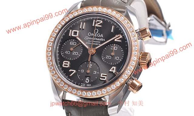 オメガ 時計コピー ブランドコピー スピードマスター オートマチック 324.28.38.40.06.001