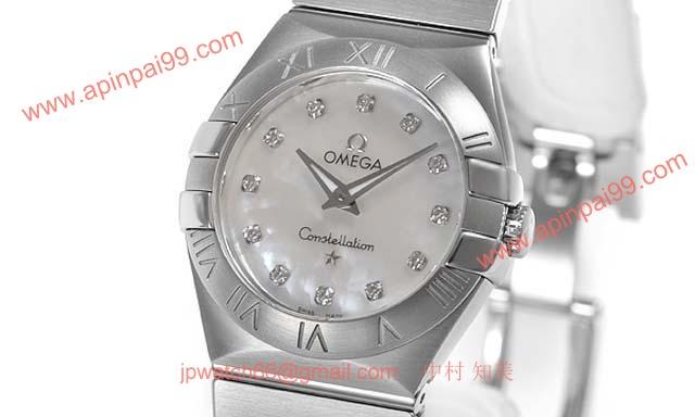 OMEGA オメガ 時計コピー新作コンステレーション ブラッシュクォーツ 123.10.27.60.55.001
