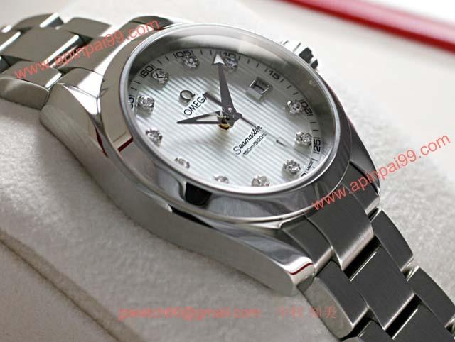 ブランド オメガ 腕時計コピー通販 シーマスター アクアテラ レディース 231.10.30.61.55.001