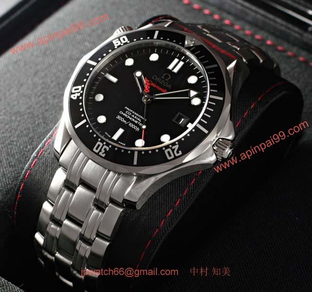 ブランド オメガ 腕時計コピー通販 シーマスター プロフェッショナル ジェームズボンド 2123041201001