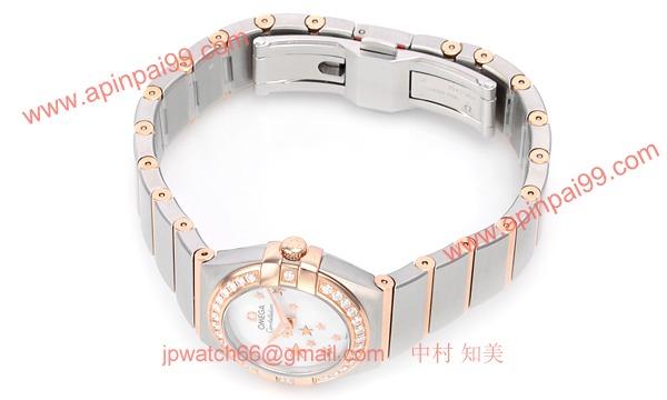 ブランド オメガ 腕時計ーコピー激安レーション ブラッシュクォーツ 123.25.24.60.05.002