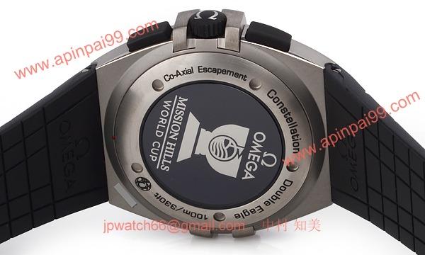 オメガ時計コピーレーション ダブルイーグル ミッションヒルズ ワールドカップ 121.92.41.50.01.001