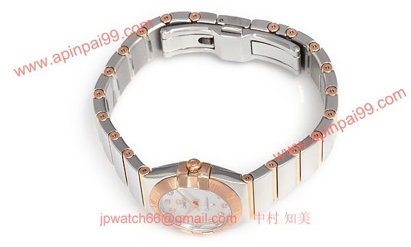 オメガ時計コピーレーション ポリッシュクォーツ 123.20.24.60.55.003