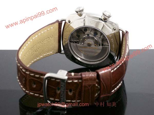 パネライ(PANERAI) スーパーコピー時計 ラジオミール GMTアラーム PAM00098