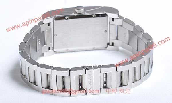 ブルガリ時計コピー Bvlgari 腕時計激安 レッタンゴロ 新品メンズ RT45WSSD