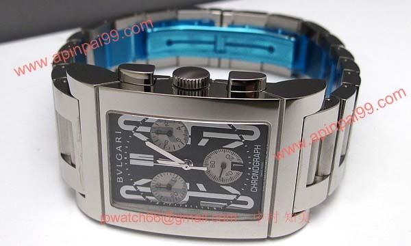 ブルガリ時計コピー Bvlgari 腕時計激安 レッタンゴロクロノ 新品メンズ RTC49BSSD