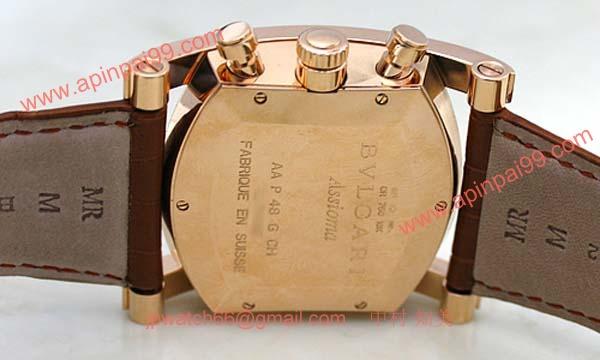 ブルガリ時計コピー Bvlgari 腕時計激安 アショーマクロノ08年限定 新品メンズ AAP48C5GLDCH